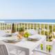 Terrace views, Sunset Suites apartments, Son Bou