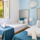 Twin bedroom, Sunset Suites apartments, Son Bou