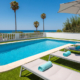 Private pool, Villa Marnes Son Bou