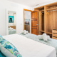 Twin bedroom, Villa Marnes Son Bou