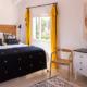 Master double bedroom, Villa Hoedic Trebaluger