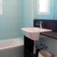 Bathroom, Villa Hoedic Trebaluger