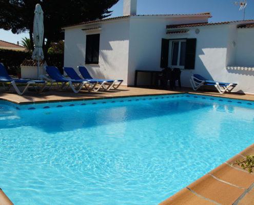 Large pool Villa Regina Cala en Bosc
