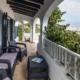 Covered terrace, Villa Seamar Binibeca