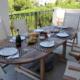 Dining terrace, Casa Froya Addaya