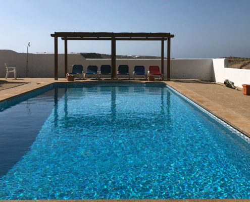 Private pool, Amberino Na Macaret
