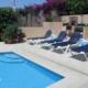 Pool terrace Villa Niqui Cala Llonga