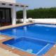 Swimming pool The Castle Alcaufar