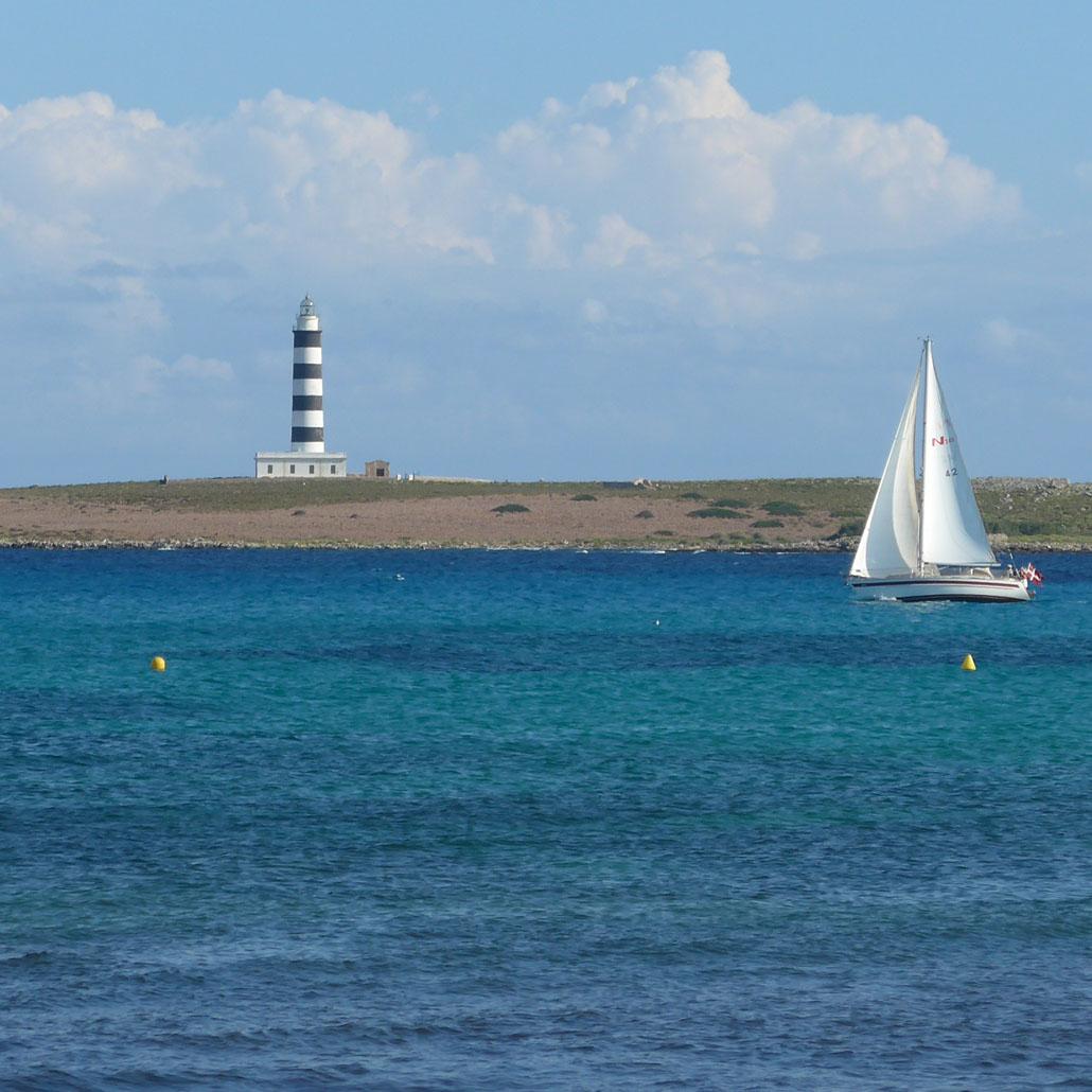 Punta Prima lighthouse