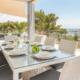 Dining terrace, Villa Privilege Son Bou
