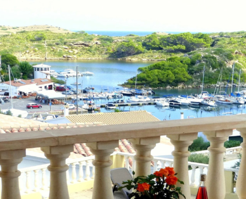 Marina views, Villa Sylvia Addaya