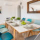 Dining area, Villa Rosa Punta Prima