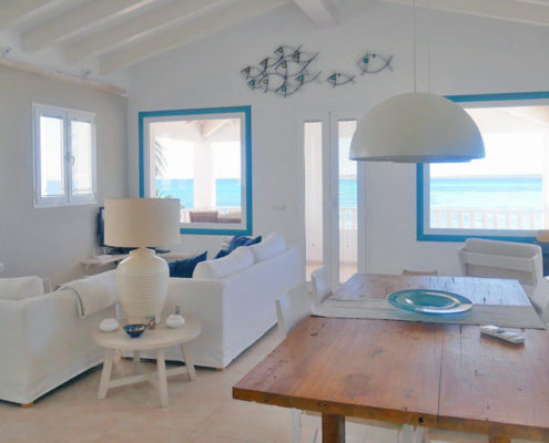 Living room The Villa Punta Prima