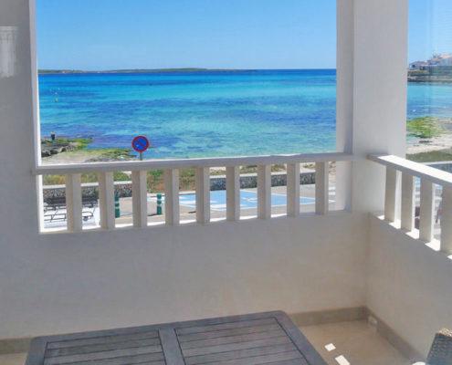 Sea & beach views The Villa Punta Prima