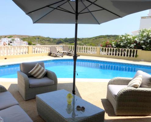 Pool terrace, Villa Sylvia Addaya
