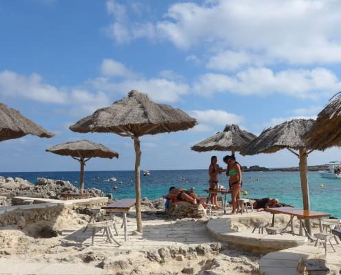 Binibeca beach