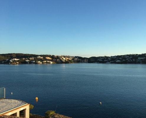 Es Castell: harbour view
