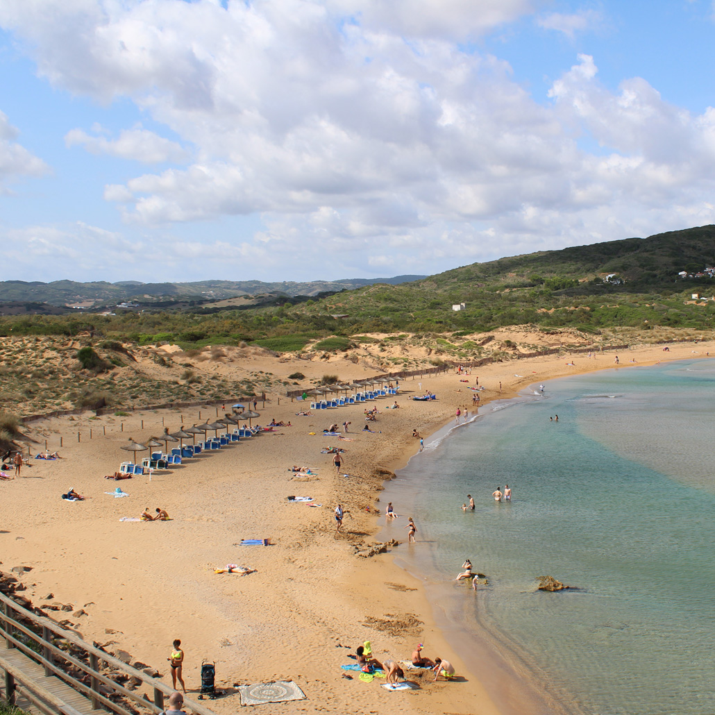 Cala Tirant, Playa Fornells