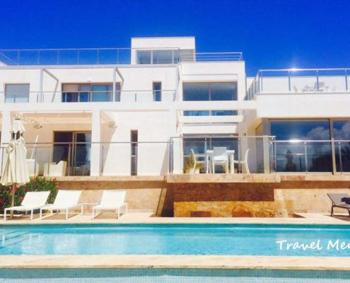Private pool Casa Pitiusa VM006 Punta Prima