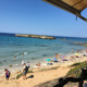 Beach bar view Santo Tomas