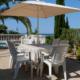 Dining terrace Villa Suenos Santo Tomas