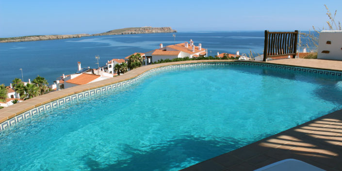 Large pool TM034 Playa Fornells