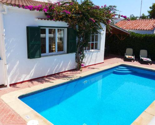 Private pool VFW001 Cala Blanca